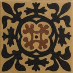 70 x 70 mm encaustic tiles