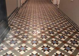 Hallhway tiles 5cmx5cm thickness 5mm. Grey, super white, black, red, blue. Twickenham.