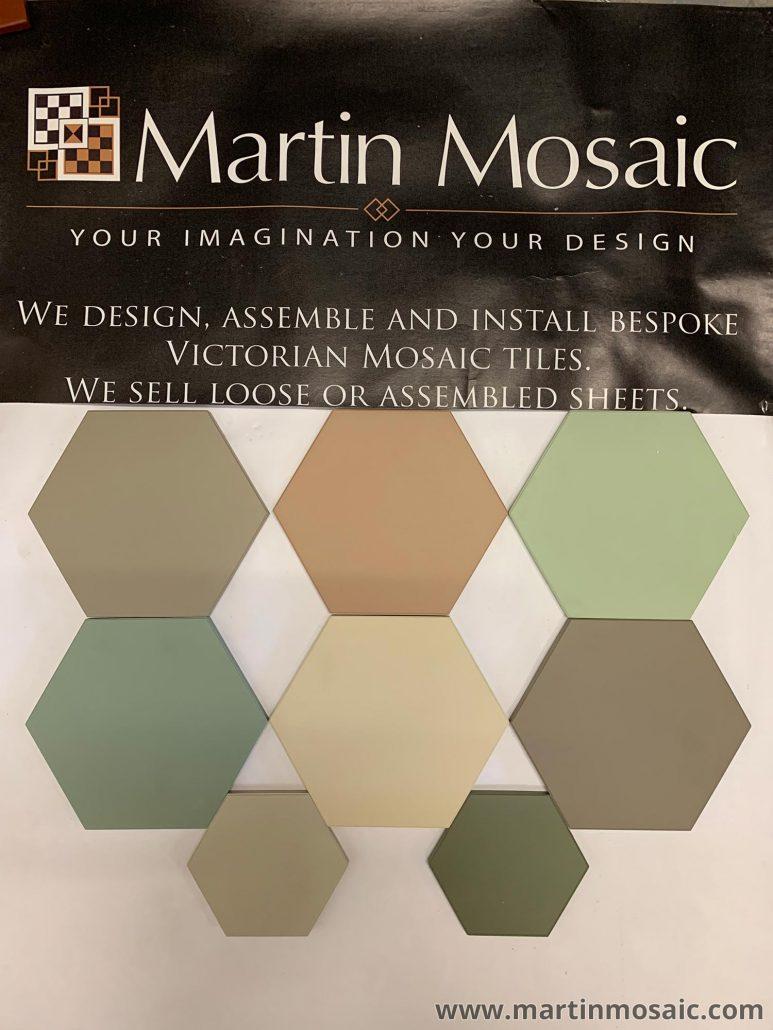 bespoke Victorian mosaic tiles