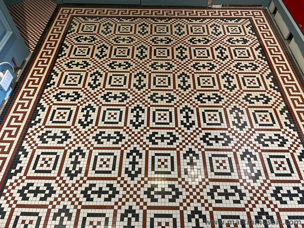Mosaic tiles 20x20mm thick 3.8mm